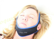 Stop Snoring Chin Strap - Anti Snore Solution for Good Mornings - Works. Mouthpiece, Mouth Guards, Pillow, and other Devices - All Natural Remedy for Snorers -  Reduce Snores and Improve Sleep. .