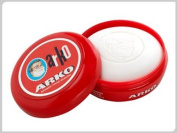 ARKO SHAVING CREAM SOAP WITH BOWL / CASE 90 grammes ***FREE UK DELIVERY***