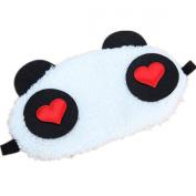 1x Lovely Panda Face Eye Travel Sleeping Mask Blindfold Cute Christmas Gift