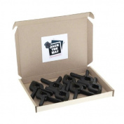 8 x Photographic Background Clamps. 8.9cm Clips for Studio Backdrops