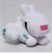 Minecraft Rabbit 14cm Plush