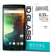 OnePlus 2 Screen Protector- Invisible Defender Glass [TEMPERED GLASS] The Ultimate Crystal Clear Shield for High Definition Quality, Super Strong Clear Protection, Anti-Scratch Technology for Oneplus 2 / Two
