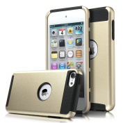 iPod 5 Case, ULAK iPod Touch 6 Case Dual Layer Hybrid Hard PC + TPU Protective Case Cover for Apple iPod touch 5th 6th Generation