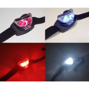 Red LED And White L.E.D. Multiposition Adjustable Headtorch Compact And Lightweight Bright Head Torch With Red And White Lights Ideal for Astronomy And Camping.