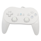 Professional Classic Game Controller for Nintendo Wii White