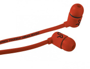 Urban Revolt Duga In-Ear Stereo Headphone for Smartphone and Tablet - Red