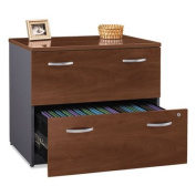 Series C Collection 36W Two-Drawer Lateral File (Assembled), Hansen Cherry, Sold as 1 Each