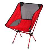 Ezyoutdoor® Walkstool Compact Stool Portable Folding Chair with Case for Bivouac , Travel, Camping, Fishing,Hiking,Sports Travel Photography Backpacking with Very High Quality
