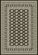 Dynamic Rugs Ancient Garden 57102-3636 Charcoal/Silver