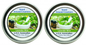 Premium 100% Soy Aromatherapy Candle -Set of 2-60ml Tins - Lavender Mint