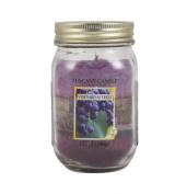 Langley Empire Candle Tuscany Triple Pour Mason Jar Mottled Wax Candle, 350ml, Vineyard Retreat