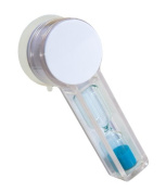 SHOWERBOB TWIST Shower Timer - 4 minute shower timer to help you easily save Water, Energy, Money & Time