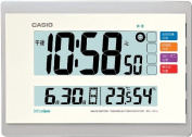 Announcement Casio temperature and hygrometer with living environment radio clock IDL-140J-7JF