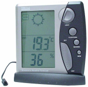 VELLEMAN WS203 WEATHER STATION WITH CLOCK, IN/OUT TEMP. & HUMIDITY