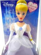 Walt Disney Cinderella Porcelain Doll Brass Key Collectible Acrylic Box 2005