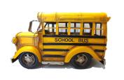 Large Vintage Looking Yellow School Bus