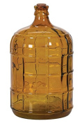 Hill's Imports Amber Glass Bottle