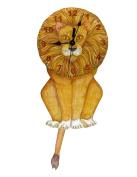 Lion Swinging Tail Pendulum Wall Clock