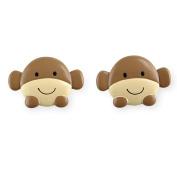 Koala Baby Curtain Rod Finials - Monkey