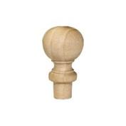 Wooden Finials-Bag of 10