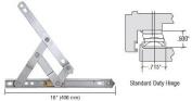 Truth 41cm Standard Duty 4-Bar Stainless Steel Window Hinge