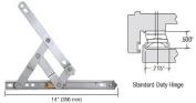 Truth 36cm Standard Duty 4-Bar Stainless Steel Window Hinge