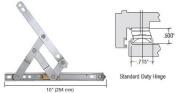 Truth 25cm Standard Duty 4-Bar Stainless Steel Window Hinge