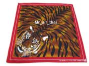 Red Cotton Handkerchief Animal Tiger Scarf Bandana Headband Mens Women Lady Lot