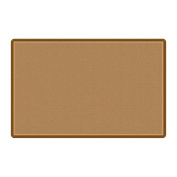 Flagship Office Classroom Decorative All Over Weave Tan Floor Rug Nylon Rectangle 1.5m x 2.4m