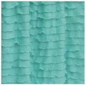 Crib Skirt, Mint Green Dust Ruffle for Nursery Bedding ...