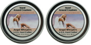 Premium 100% Soy Wax Candles- Set of 2 - 60ml Tins - Scent