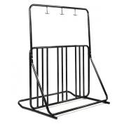 Bicycle Parking Storage Rack 1-6 Bikes Steel Park Stand 2/3/4/5 Black