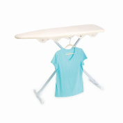 Homz Ironing Board and Hanger Replacement Cover and Pad, Cover Fits up to 38cm x 140cm Boards, Khaki
