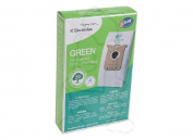 Electrolux Canister Type S Green Filter Paper Bags 3 Pk # E212B