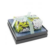 Mudlark Handcrafted Soap Bar and Dish Gift Set, Malay/Ava