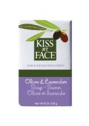 NEW! Kiss My Face Natural Bar Soap Bundle (3 Olive, 1 Lavender)