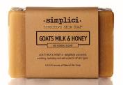 SIMPLICI Goats Milk & Honey Bar Soap