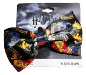 Harry Potter Hogwarts House Crest Logos Clip On HAIR BOW