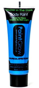 Paint Glow Glow In The Dark Blue Body Paint 10ml