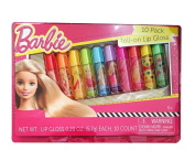 Barbie 10 Pack Roll-on Lip Gloss