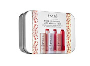Fresh Nude Lip Lovers Mini Kissing Trio, Sugar Nude, Sugar Rosé, Sugar Honey Tinted Lip Treatment 3 X 0ml (2.27g) SPF 15 NEW