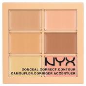 NYX Concealer 3C Palette - Conceal, Correct, Contour