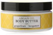 Deep Steep Argan Oil Body Butter, Grapefruit Bergamot, 7 Fluid Ounce