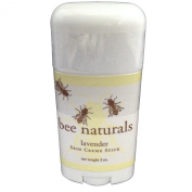 Bee Naturals Lavender Skin Cream Sticks - TOP #1 SELLER - Convenient Reuseable Container - Luxury Hand Lotion In A Twist Up Stick Format