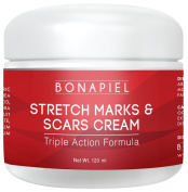 Stretch Marks and Scars Cream - Moisturising Body Cream Treatment to Remove & Prevent Old and New Marks and Scars - Natural & Organic For Pregnant Women, After Birth, & Men - 120ml