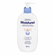 Moisturel Therapeutic Lotion with Squeeze Top for Dry and Sensitive Skin, 400ml
