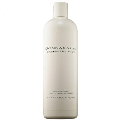 Donna Karan * Cashmere Mist * Body Lotion Large Size 15.2 Oz. / 450 Ml. Limited Edition.