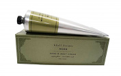 K. Hall Hand & Body Cream Tube, Moss, 100ml/100g Tube