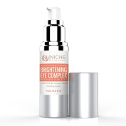 Brightening Eye Complex With Plant Stem Cells - With Echinacea - 15ml - Our Best Under Eye Gel Helps Diminish The Appearance Of Dark Circles and Puffiness - Refreshes and Renews Tired Looking Eyes