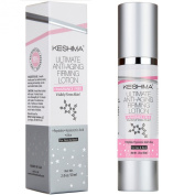 Keshima Face & Neck Firming Cream - Fragrance Free - Tightens Loose and Sagging Skin - Smooths Wrinkles and Fine Lines - 60ml